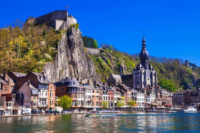 La ville de Dinant située dans la province de Namur