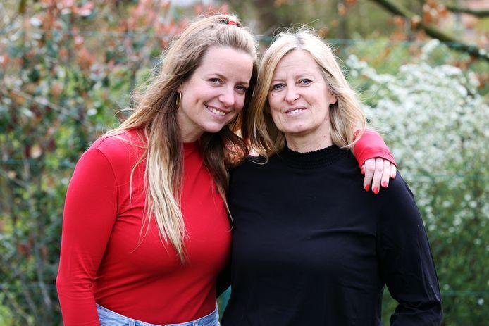 Elke Clijsters en mama moeder Els Vandecaetsbeek