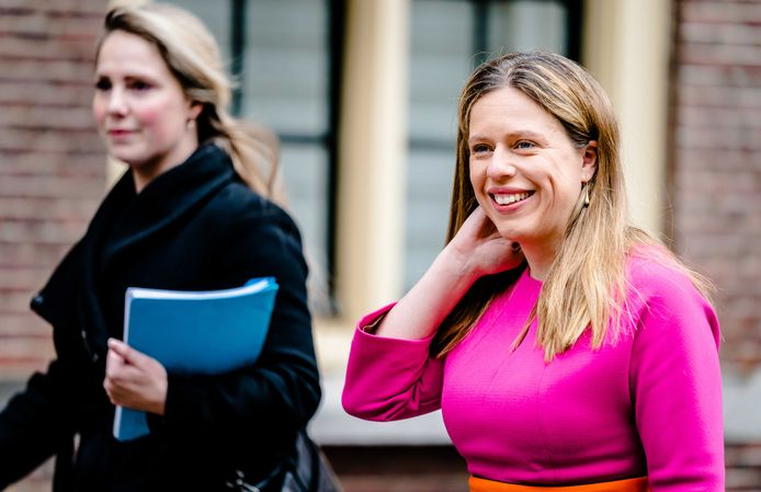 Minister Carola Schouten van Landbouw, Natuur en Voedselkwaliteit (ChristenUnie)
