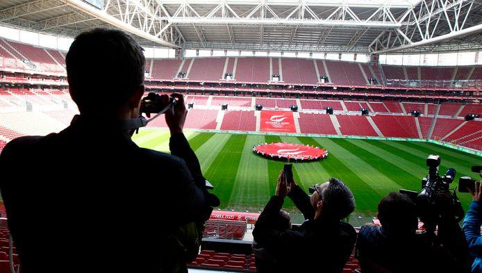 Het stadion van Galatasaray.