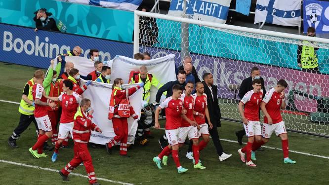 Le Danois Eriksen s'effondre sur le terrain, stupeur à Copenhague