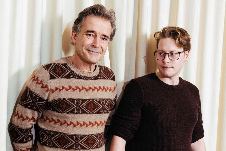 Frank en Ruben Focketyn. Beeld Damon De Backer