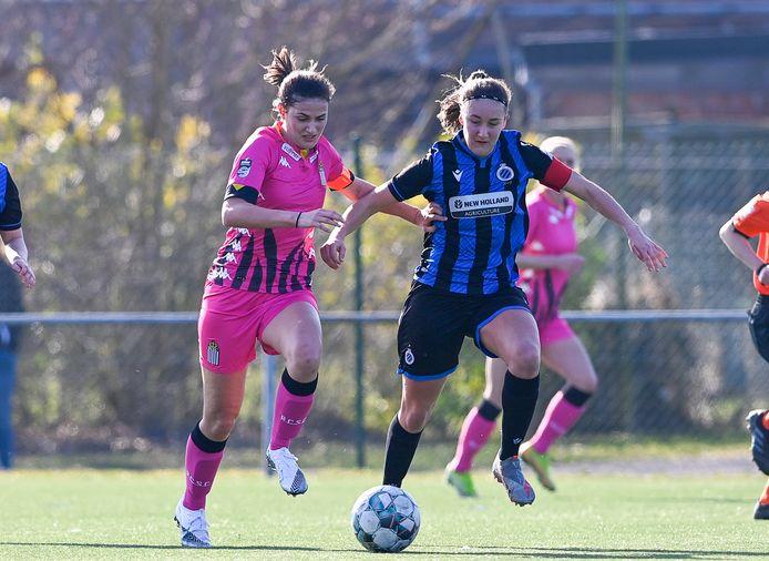Ellen Martens en Club YLA lieten tegen Charleroi een vierde clean sheet optekenen.