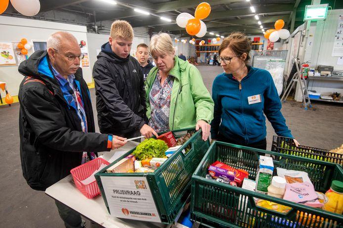 De open dag van de Voedselbank Arnhem in 2019.
