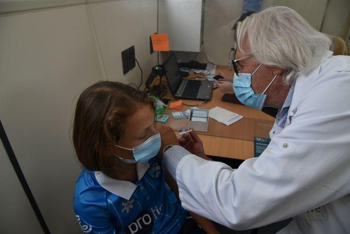Zaterdag werden 83 mensen ingeënt in de vaccinatiebus in Zaventem.