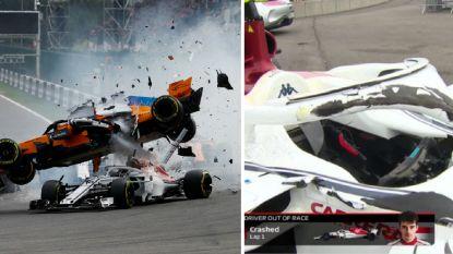 Omstreden halo redde na opzienbarende crash van Alonso wellicht het leven van F1-collega