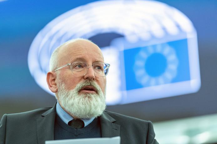 """Eurocommissaris Frans Timmermans over de Investeringsplannen van de Commissie: ,,Dit is een begin. Als we niet snel iets doen, is het te laat."""""""