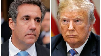 """Ex-advocaat Trump beschuldigt president onder ede: """"Ik betaalde in zijn opdracht zwijggeld aan porno-actrice om verkiezingen te beïnvloeden"""""""