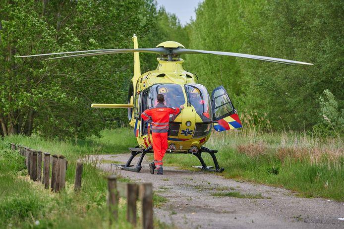 Een traumahelikopter werd opgeroepen vanwege steekincident Sebastiaansweg in Moerdijk