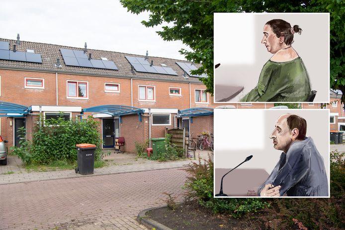 Geertje B. stond vandaag in de rechtbank in verband met de dood van hun 4 maanden oude baby, op 10 maart vorig jaar. Zij wordt verdacht van nalatigheid. Haar ex-man Richard S. wordt verdacht van het doden van het kind.