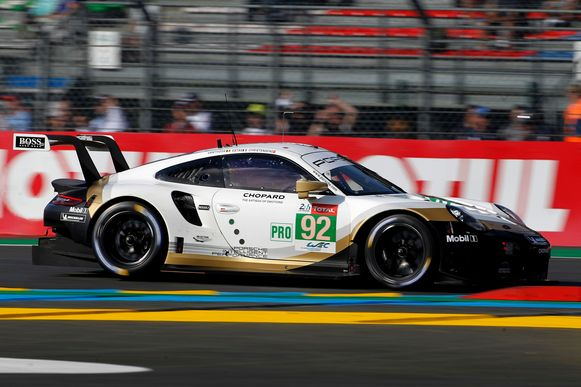 Porsche van Laurens Vanthoor.