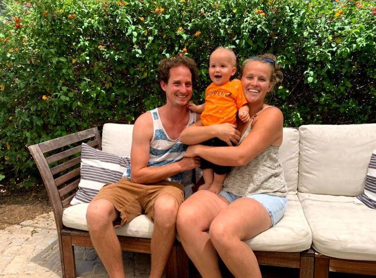 Gust Maes en Mayke Heijmerink runnen vakantiepark Quinta da Vida. Beeld Marlies van Leeuwen