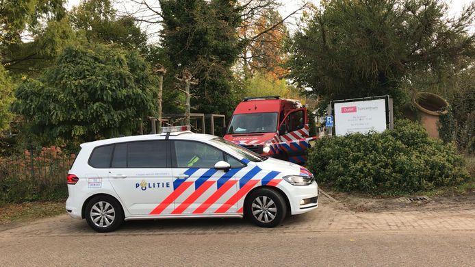 Dode man ontdekt in drugslab bij Outlet Tuincentrum Den Dungen