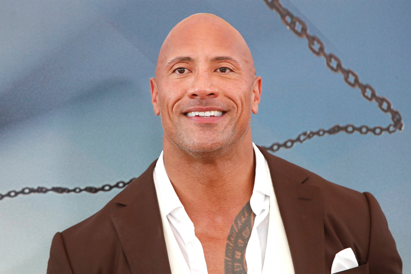 Dwayne 'The Rock' Johnson.