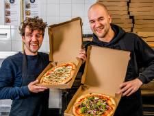 Neven Pim en Thijs combineerden hun passies. Het resultaat: vegan pizza met eigen kaas