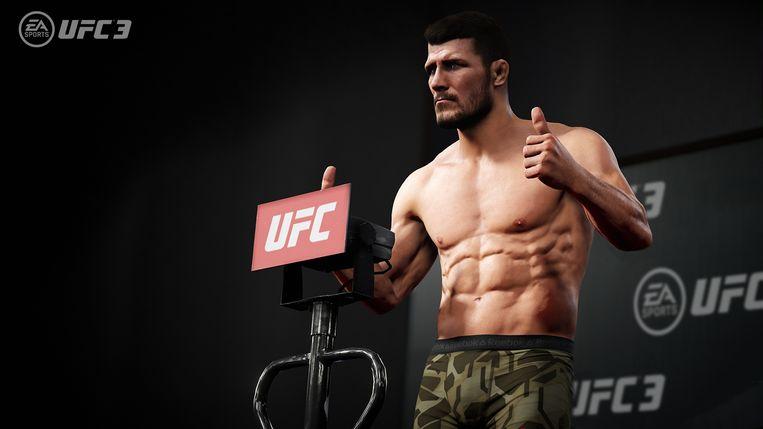 Intuïtieve lichaamsbewegingen vormen het speerpunt van UFC 3. Beeld Electronic Arts