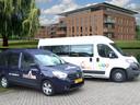 De Noaberbus heeft ook een auto om mensen van deur tot deur te vervoeren, maar die is nu vanwege de coronacrisis niet in gebruik.