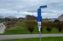 Vanaf de Geldersedijk in Hattem is de eerste windturbine goed te zien.