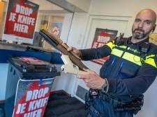 Wapens inleveren in de 'week van de veiligheid', maar in Twente en de Achterhoek doen we niet mee