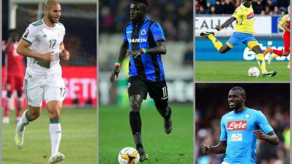 Deze (oude) bekenden van het Belgische voetbal kunnen in actie komen in Africa Cup-finale