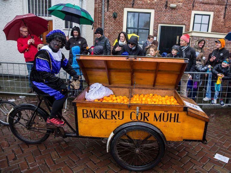Zwarte Piet in Weesp Beeld Amaury Miller