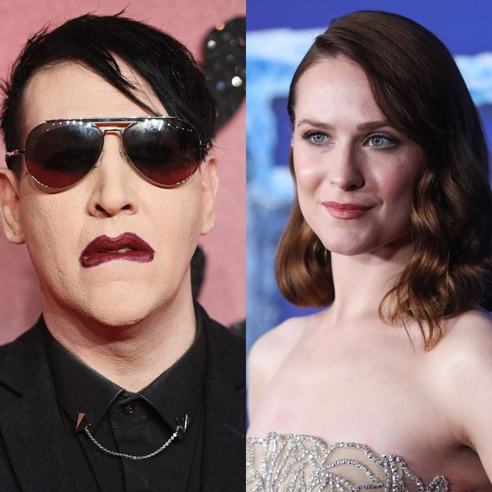 Marilyn Manson en Evan Rachel Wood.