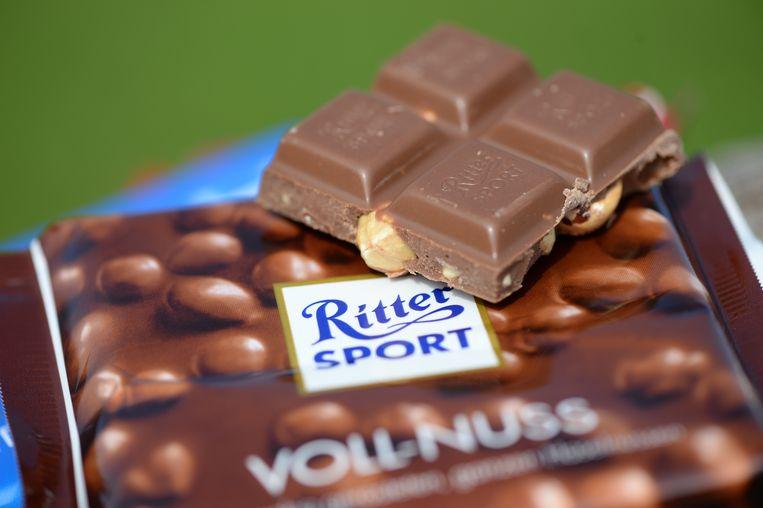 Milka mag van de Duitse rechter geen chocolade in vierkante vorm uitbrengen, zoals Ritter Sport. Beeld Picture Alliance / Patrick Seege