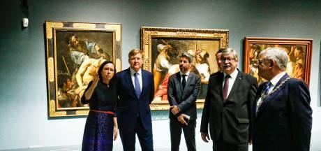 Koning Willem-Alexander opent exclusieve Caravaggio-tentoonstelling in Centraal Museum
