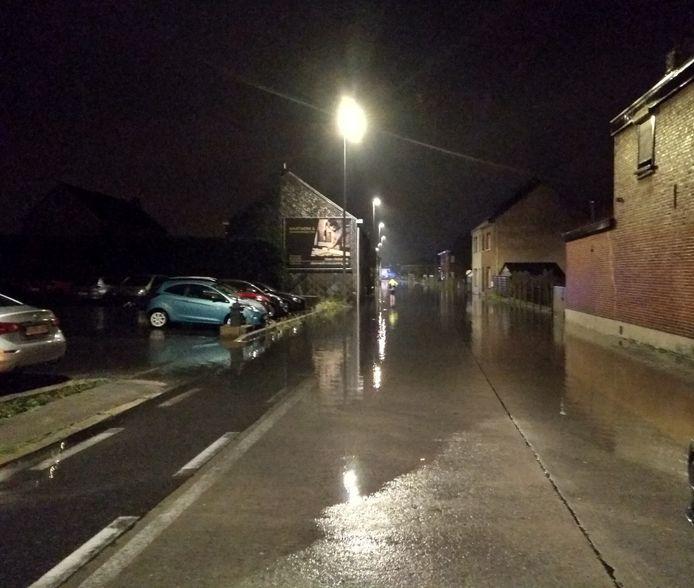Het Kleinzand werd opnieuw getroffen door wateroverlast.