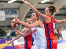Basketbalsters Batouwe pakken eerste winst van 2021 bij Loon Lions in Landsmeer