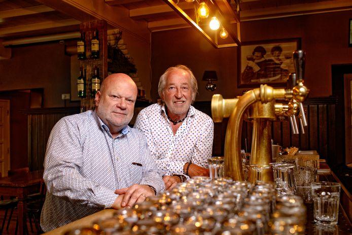 Willem van Schijndel (links) en Clemens van Bracht: 45 jaar De Deurzakkers.