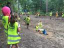 Vooral het Oerbos was bij de kinderen populair tijdens het uitstapje van Kindervakantieweek Berkel-Enschot.
