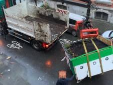 Fin de la saga: la commune enlève déjà le Citizen Bike Garden sponsorisé par la Région