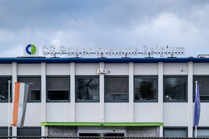 CG Power Systems Belgium werd in februari vorig jaar failliet verklaard.
