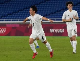 Koji Miyoshi (Antwerp) scoort voor Japan en blijft nog wat langer actief op de Spelen