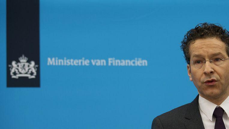 Minister van Financiën Jeroen Dijsselbloem Beeld null