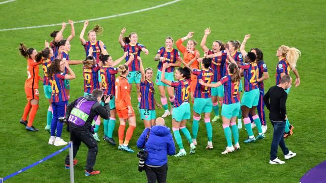 Football talk. Barça-dames winnen Champions League - Milan raakt niet voorbij Cagliari