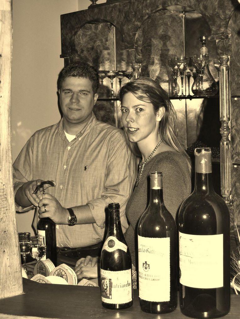Bernard en Françoise bij de opening vijftien jaar geleden.