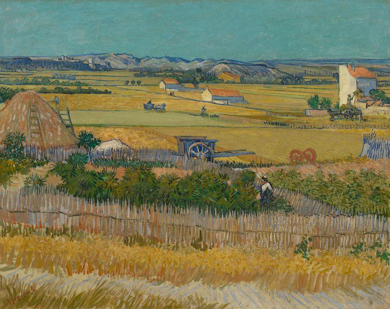 Vincent van Gogh, De oogst, 1888, Van Gogh Museum, Amsterdam (Vincent van Gogh Stichting) Beeld Maurice Tromp/Vincent van Gogh Stichting
