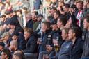 Supporters van PSV konden voor het eerst in ruim zeven maanden weer bij een wedstrijd zijn.