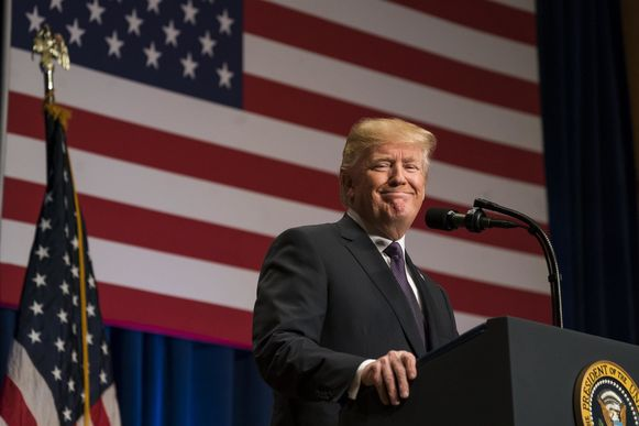 Amerikaans president Donald Trump voert al weken campagne voor zijn partijgenoten die herkozen moeten worden in het Congres.