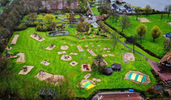 De speeltuin van Binnenmaas.