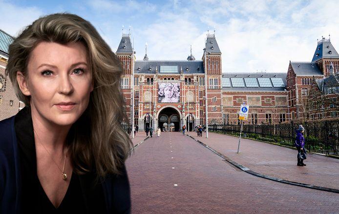 Saskia Noort en het Rijksmuseum in Amsterdam.
