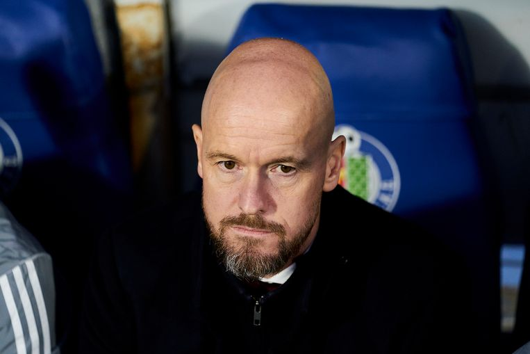 Erik ten Hag Beeld Getty Images