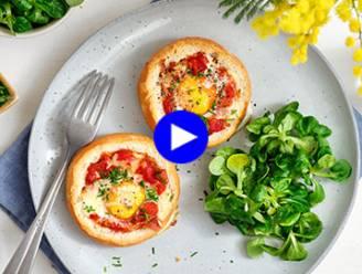 Geen zin in een saaie boterham 's middags? Deze lunch kleurt je dag!