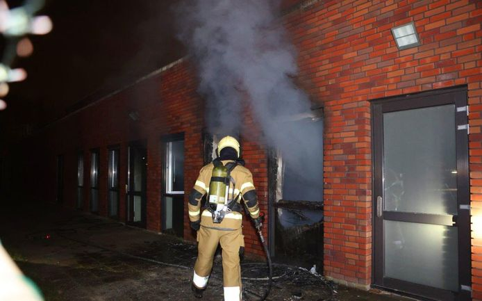 Grote schade Maurick College na brand.