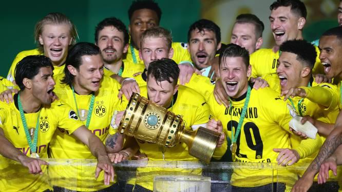 Football Talk. Dortmund wint voor vijfde keer Duitse beker - Eerste aanwinst voor Cercle