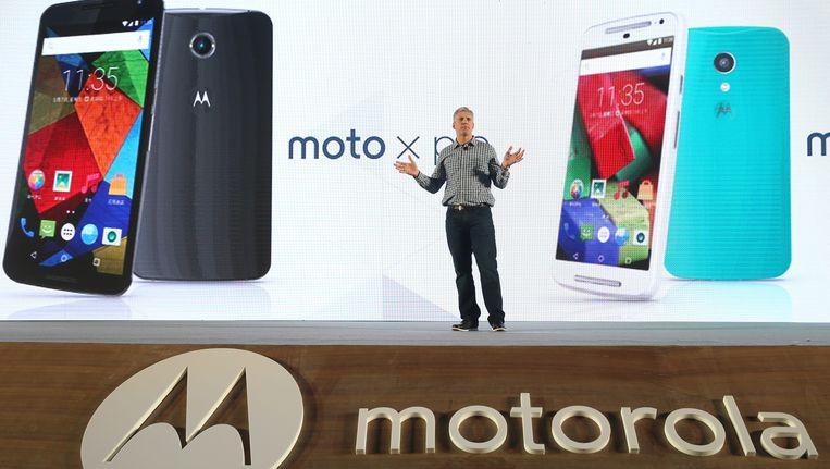Motorola Mobility-CEO Rick Osterloh Beeld ANP