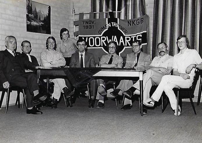 Het bestuur in 1981