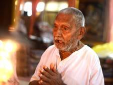 In 1896 geboren monnik doet gooi naar titel oudste mens ooit: 'Mijn geheim is nooit seks en veel yoga'